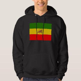 The Lion of Judah Hoodie Imperial Ethiopian flag