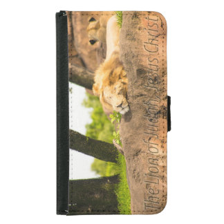 The Lion of Judah Wallet Phone Case For Samsung Galaxy S5