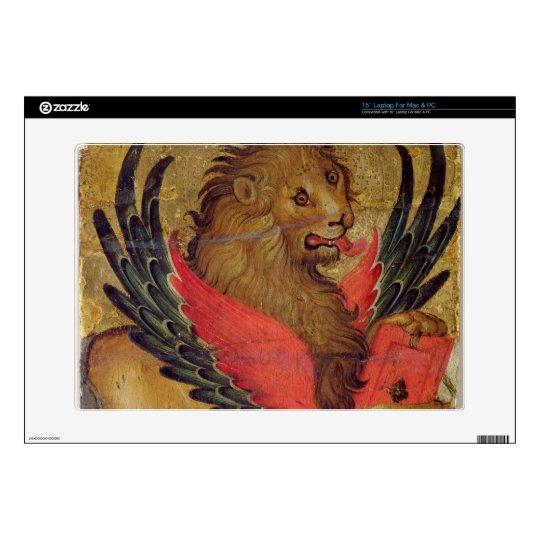 The Lion of St. Mark (oil on panel) Laptop Skin