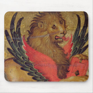 The Lion of St. Mark (oil on panel) Mouse Pad