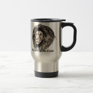 The Lion Of The Tribe Of Judah, 15 Oz Stainless Steel Travel Mug