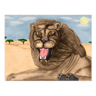 The Lion Post Cards