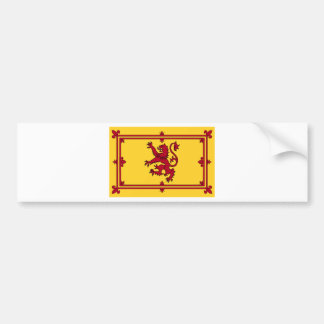 The Lion Rampant of Scotland Bumper Sticker