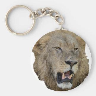The Lion Roars Key Chain