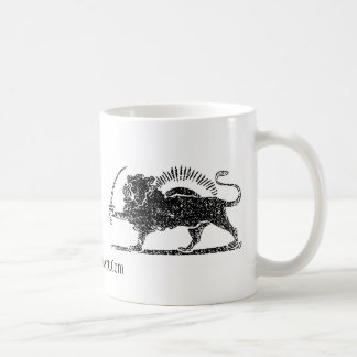 The Lion, Shir-o-khorshid Mug
