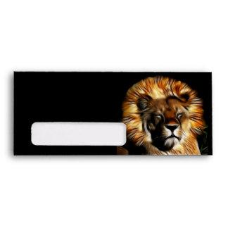 The Lion Sleeps Envelopes