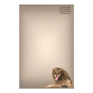 The Lion Stationery