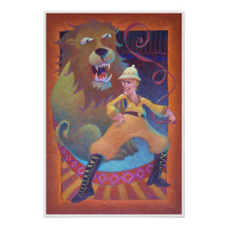The Lion Tamer Poster