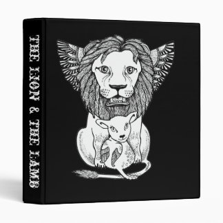 The Lion & the Lamb Ring Binder