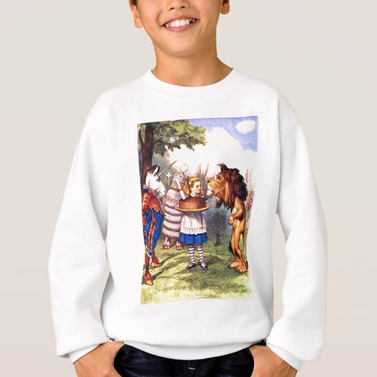 THE LION & THE UNICORN; CAKE WILL MAKE IT BETTER! SWEATSHIRT