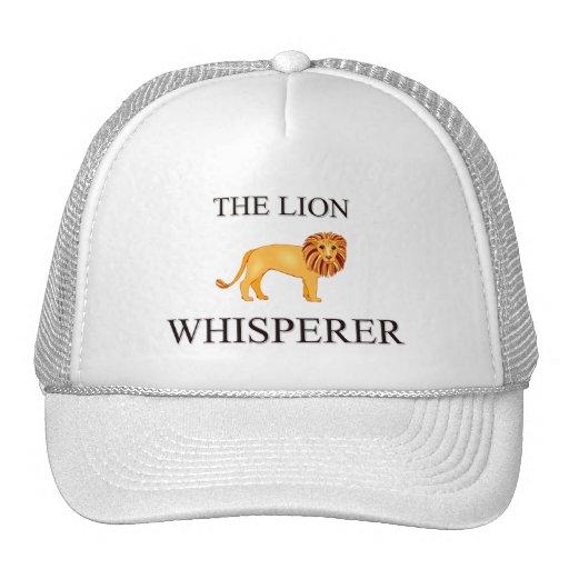 The Lion Whisperer Mesh Hats