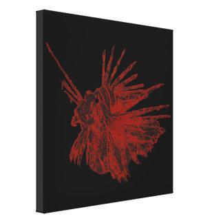 The Lionfish 2 Canvas Print