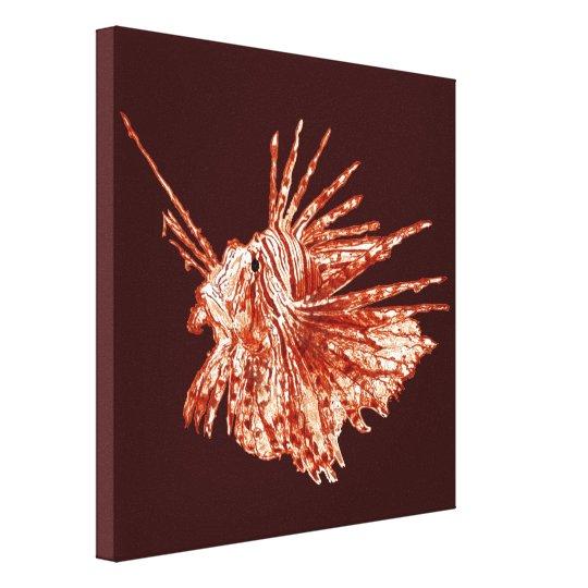 The Lionfish Canvas Print