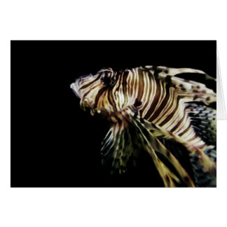 The Lionfish Card