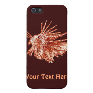The Lionfish Cover For iPhone SE/5/5s