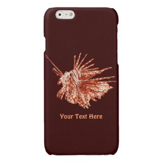 The Lionfish Glossy iPhone 6 Case