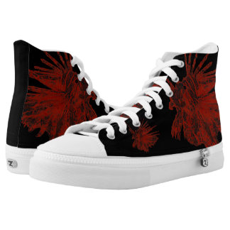 The Lionfish High-Top Sneakers