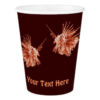 The Lionfish Paper Cup