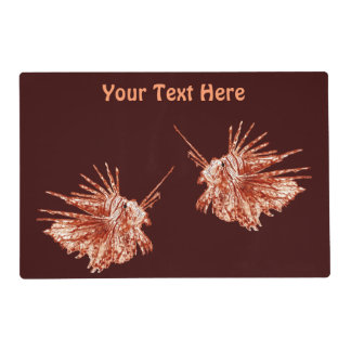 The Lionfish Placemat