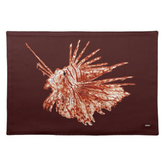 The Lionfish Cloth Placemat