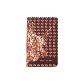 The Lionfish Pocket Moleskine Notebook