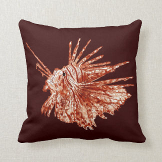 The Lionfish Throw Pillow