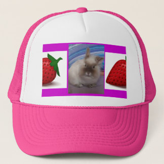 the lionhead rabbit trucker hat