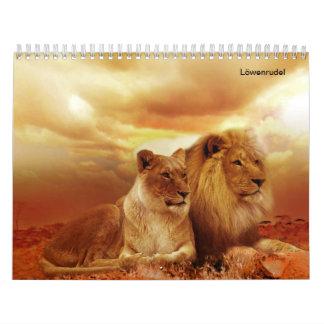 The lions calendar