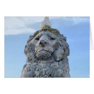 The Lion's Snowy Day, Newport News, VA Card