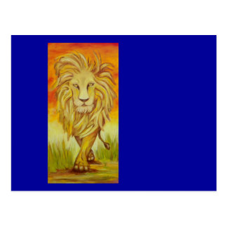 The Lions Strut Postcard