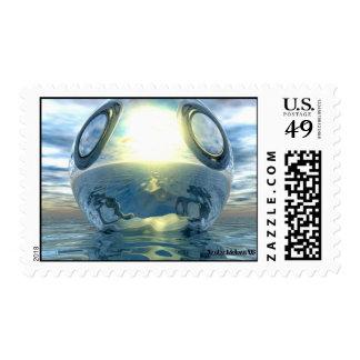 The Liquid Metallic Sphere Postage
