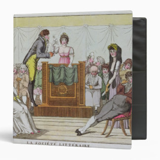 The Literary Society Vinyl Binder