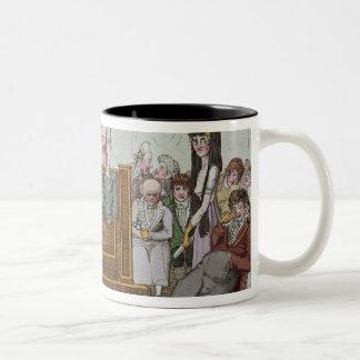 The Literary Society Two-Tone Coffee Mug
