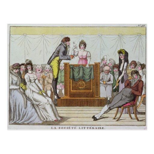 The Literary Society Postcards