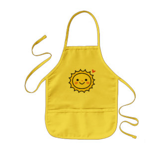 The Little Baby Sun Aprons