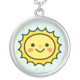 The Little Baby Sun Necklaces