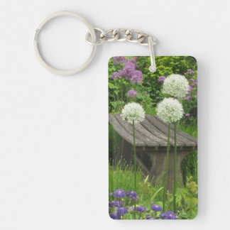 The Little Bench - Acrylic Single Sided Key Ring