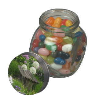 The Little Bench Jelly Belly Candy Glass Jar