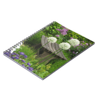 The Little Bench - Photo Notebook - 80 Lined Pages