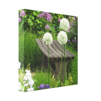 The Little Bench - Premium Wrapped Canvas Gloss