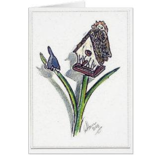 The Little Bird House Greeting Card