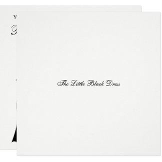 The Little Black Dress Bridal Shower Invitation
