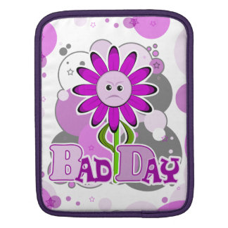 The Little Bloomers - Bad Day Benny Purple Flower Sleeve For iPads