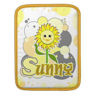 The Little Bloomers - Sunny Susan - Yellow Flower Sleeves For iPads