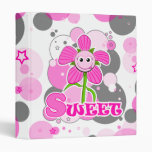 "The Little Bloomers - Sweet Selina - 1"" Binder"