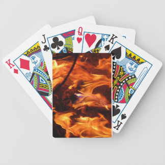 The little blue flame bicycle playing cards