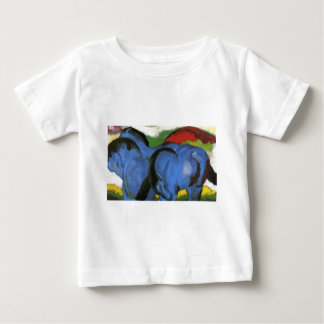 The Little Blue Horses by Franz Marc Baby T-Shirt