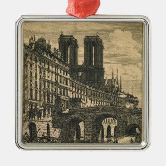 The Little Bridge, 1850 Metal Ornament