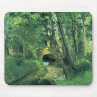The Little Bridge, Pontoise, 1875 Mouse Pad