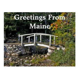 The Little Bridge Postcard